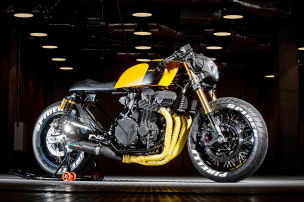 Honda CB750 RC42 The Spider: Cafe Racer