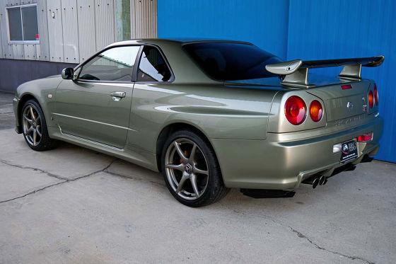Nissan Skyline R34 GT-R mit 362 km zum Wahnsinns-Preis zu verkaufen!
