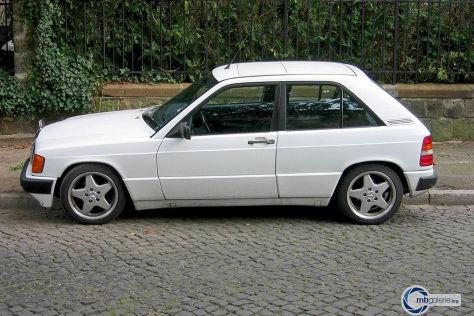 Ein Mercedes 190 E mit Schrägheck? Den gab es wirklich! - autobild.de