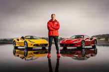 Formel 1: Mick Schumacher im Ferrari