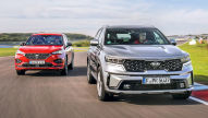 Kia Sorento, Seat Tarraco: Test, Motor, Preis