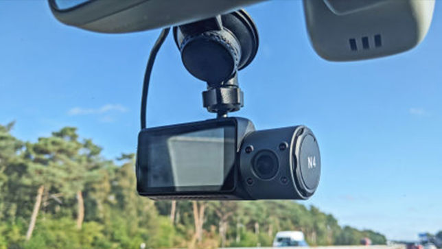 Drei-Linsen-Dashcam ohne Schnickschnack