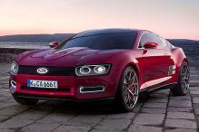 So könnte eine Neuauflage des Ford Capri aussehen