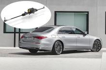 Mercedes S-Klasse ZF Hinterachslenkung  Montage
