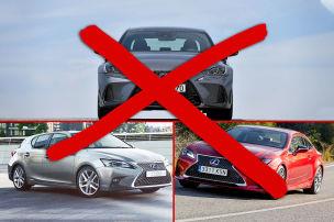 Ladenhüter bleibt bei Lexus im Programm