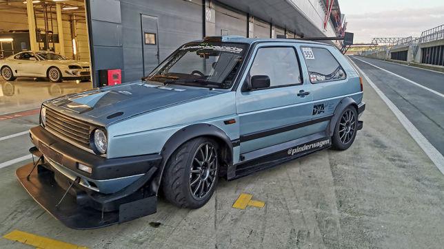 """VW Golf 2 CL 2.0 16V """"Pinderwagen"""""""