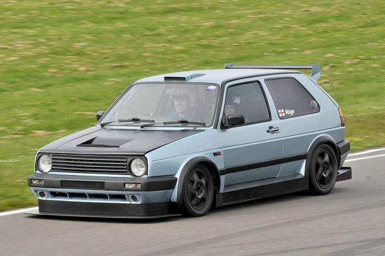 VW Golf 2 von Nigel Pinder