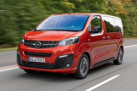 Opel Zafira-e Life   !! SPERRFRIST 9. September 2020  12:00 Uhr !!