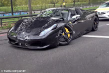 Unfall: Ferrari 458 Spider, 812 Superfast. BMW M6