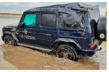 Mercedes-AMG G 63 überschlägt sich mehrfach