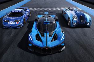Unglaubliche Zahlen zum Bugatti Bolide