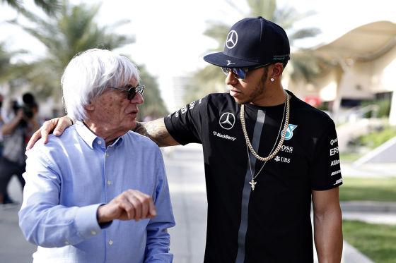Das sagt Bernie über Vettel und Hamilton