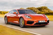 So könnte ein Porsche Panamera Coupé aussehen