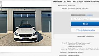 Gepflegter Mercedes C 63 AMG zum Schnäppchenpreis?