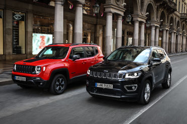 Jeep Compass 4xe und Jeep Renegade 4xe