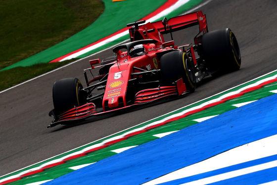 Ferrari-Speed war gut, Stopp mies