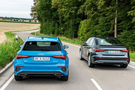 Audi A3 Sportback   Audi A3 Limousine