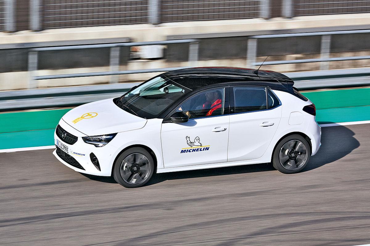 1. Platz Opel Corsa-e