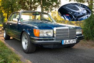 Mercedes 450 SE (W 116) Mechatronik