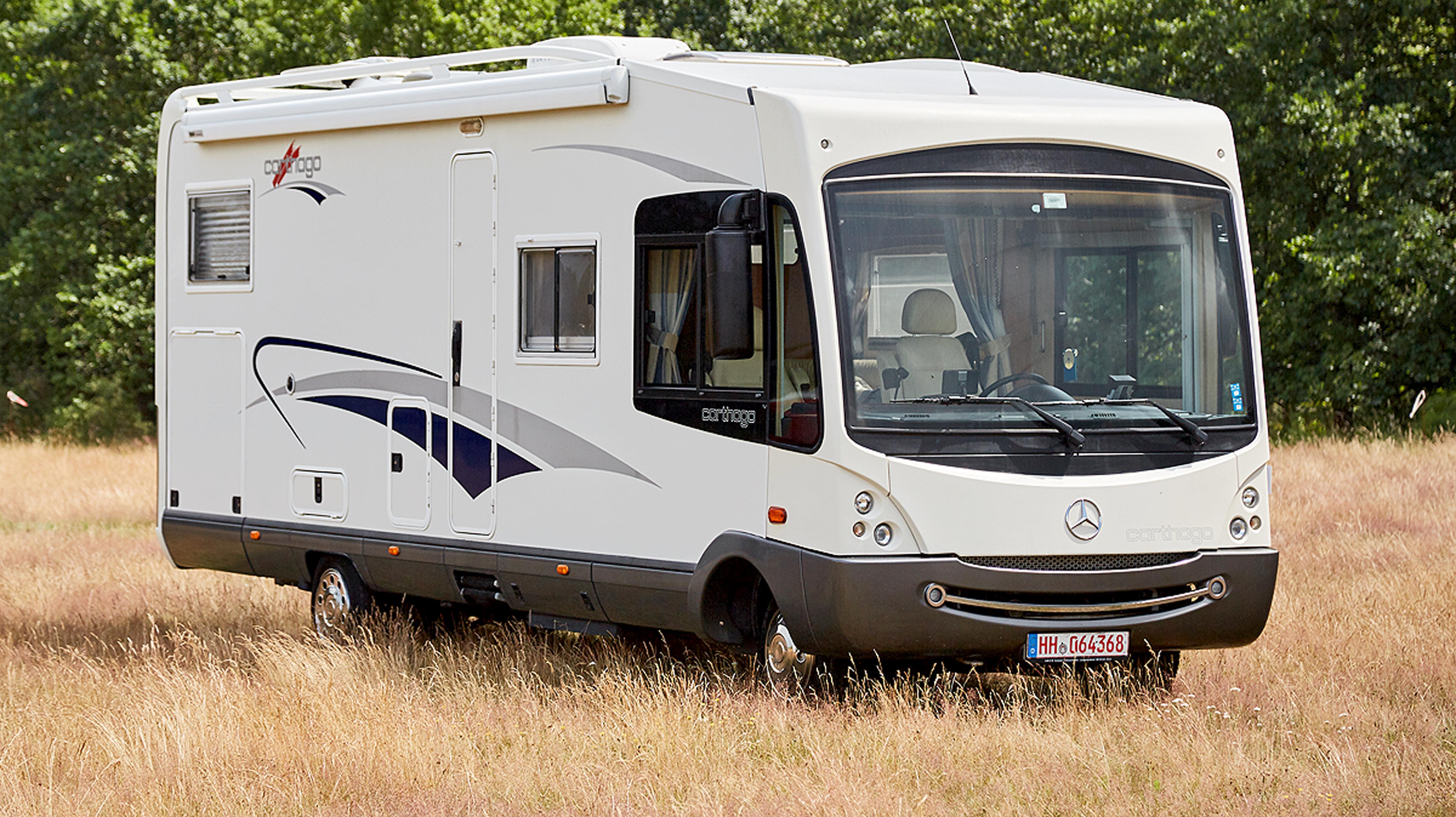 Wohnmobil-Test: Carthago M-Liner M10B als Gebrauchtwagen - autobild.de