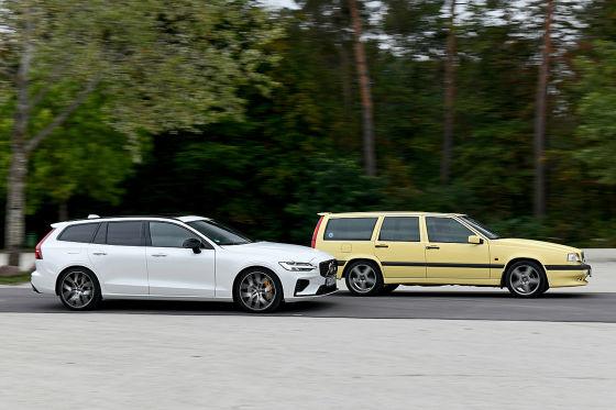 Volvo 850 T5-R   Volvo V60 T8  - Zwei Sportler von Volvo im Vergleich