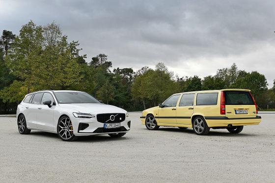 Volvo V60 T8    Volvo 850 T5-R   - Zwei Sportler von Volvo im Vergleich