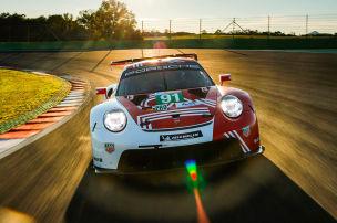 Tracktest mit dem 911 RSR