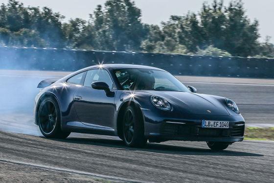 Porsche 911 Erprobung