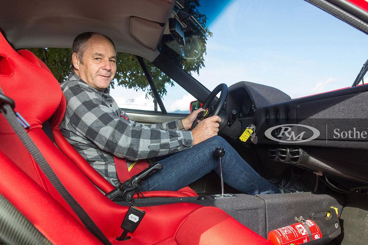 DTM: Gerhard Berger verkauft seinen Ferrari F40