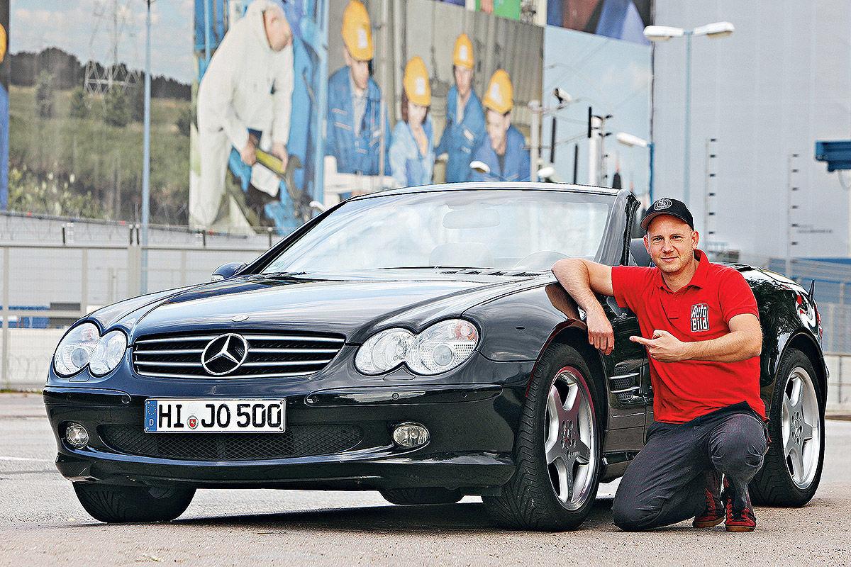 Mercedes SL (R 230) im Technik-Check