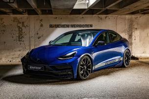 Lamborghini-Optik f�r das Tesla Model 3