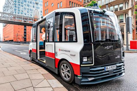 """Autonomer Minibus """"Heat"""""""