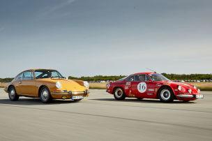Porsche 912 vs. Alpine A110 1300