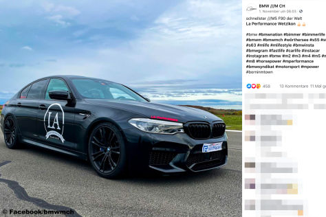 BMW M5 F90: Video, PS, Tuning, Dragrace