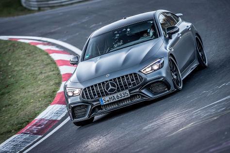 Mercedes Amg Gt 63 S 4matic Nurburgring Rekord Fur Mercedes Autobild De