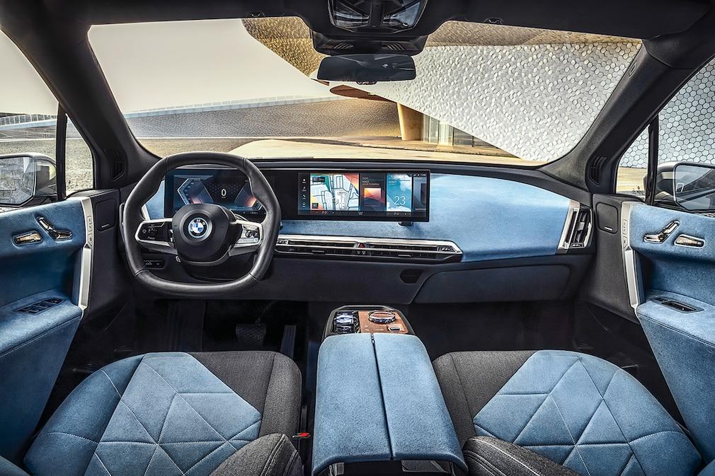 BMW iX !! SPERRFRIST 11. November 202014:00 Uhr !!