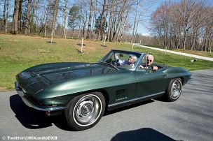 Corvette-Fan Biden bekommt Fahrverbot