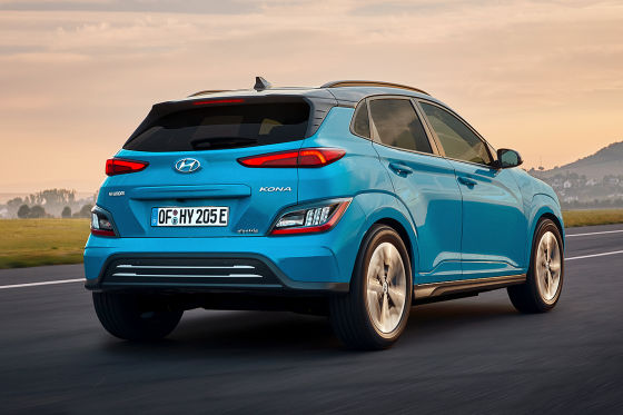 Hyundai Kona Elektro Facelift  !! SPERRFRIST 11.November 2020  00:01 Uhr !!