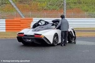 Seltener 1070-PS-McLaren gecrasht!