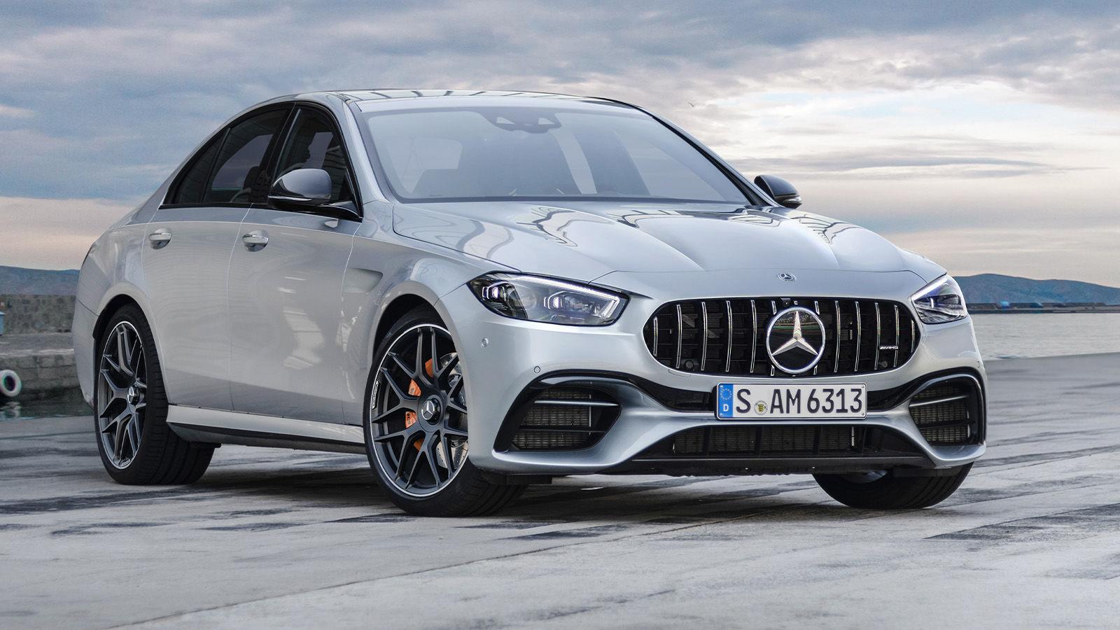 Mercedes-AMG C 63 (2021): Neuvorstellung - Skizze - V8 ...
