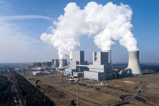 Strom Tankstellen - Kohlekraftwerk