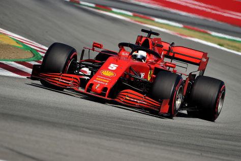 Formel 1: Ferrari vorm GP Türkei