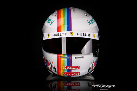 Formel 1: Vettel-Helm