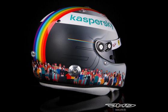 Vettel setzt Zeichen für Vielfalt und Toleranz