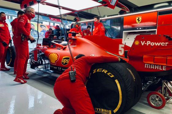 Ein guter Tag für Vettel