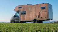 Faszination: Wohnmobil aus Holz