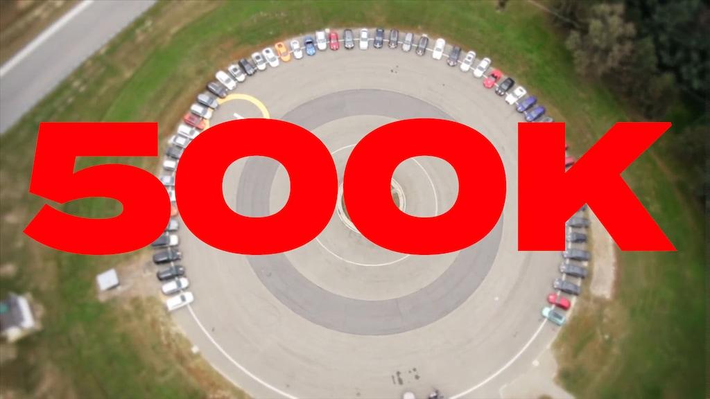 Die 500.000 Marke bei YouTube ist geknackt - dank Euch!