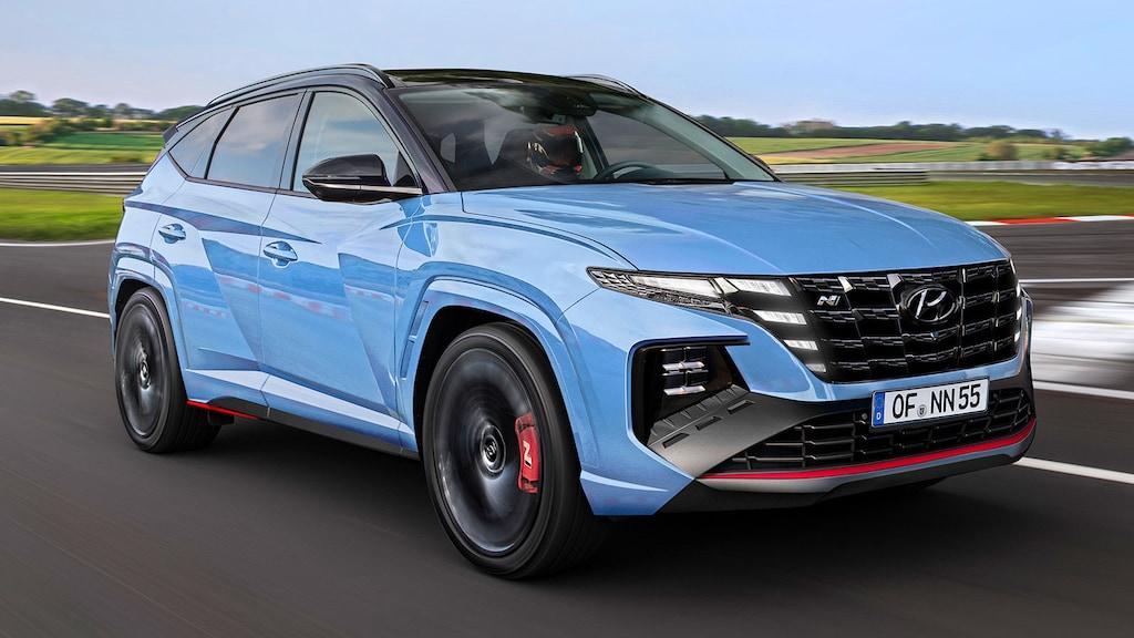 So könnte der Hyundai Tucson N aussehen