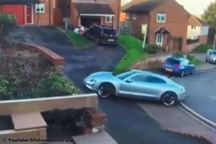 Porsche Taycan: Crash