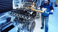 Motorenproduktion bei BMW